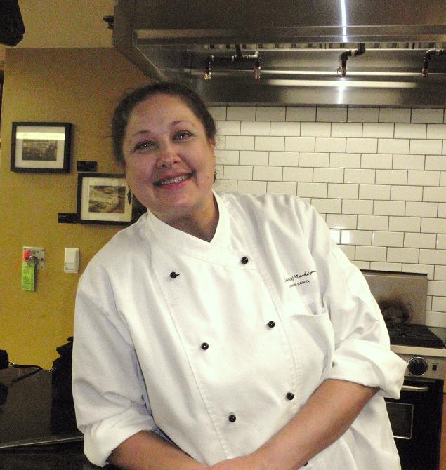 Chef Cindy Haenel, photo by Cecilia Nasti, www.fieldandfeast.com