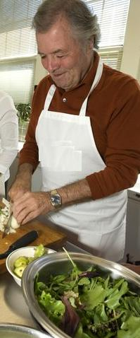 Jacques Pepin, Photo credit: Georgia Kral