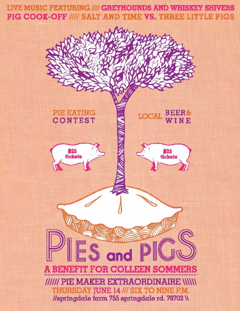 Pies and Pigs Benefit for Colleen Sommers