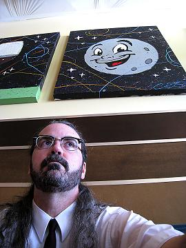 Mike Sutter, self portrait