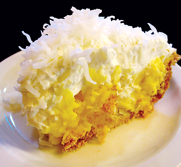 Frisco Shop Coconut Cream Pie, photo © Mike Sutter/ Fed Man Walking