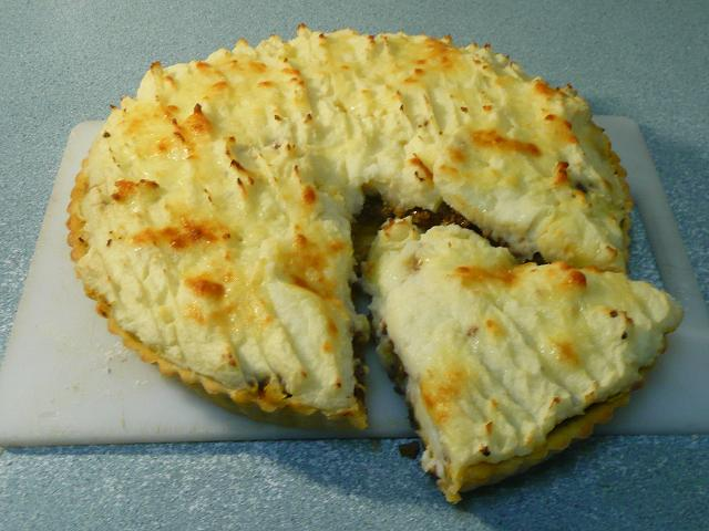 Shepherds Pie, photo courtesy of Make Your Own Damned Cookies Blog