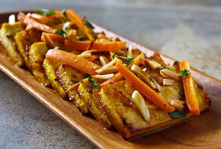 Citrus-roasted Tofu, Photo by Susan Voisin