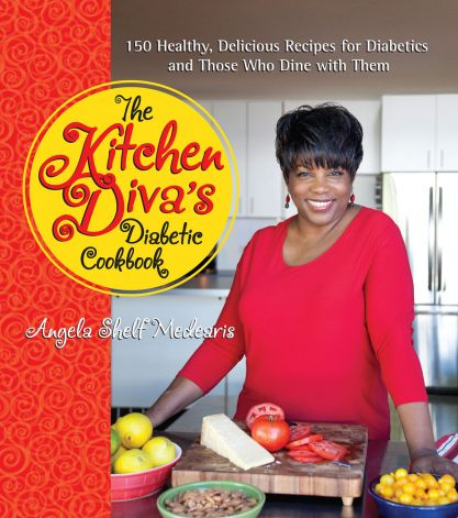 Cover of Angela's new cookbook