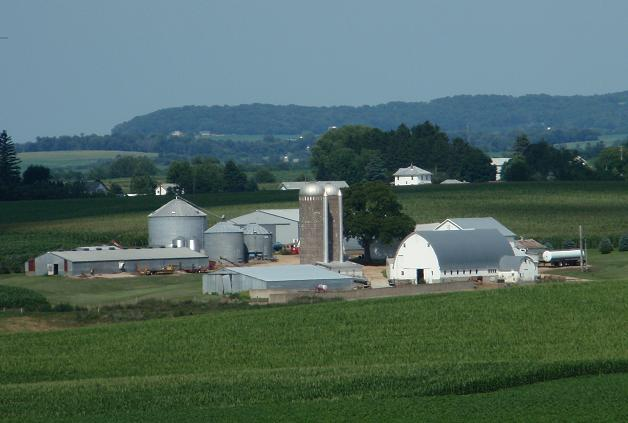 Farm near Galena, Illinois; Photo © Cecilia Nasti