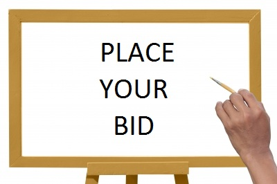 White Board, Place Your Bid