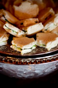 Cucumber Sandwiches, photo by Lisa Hause