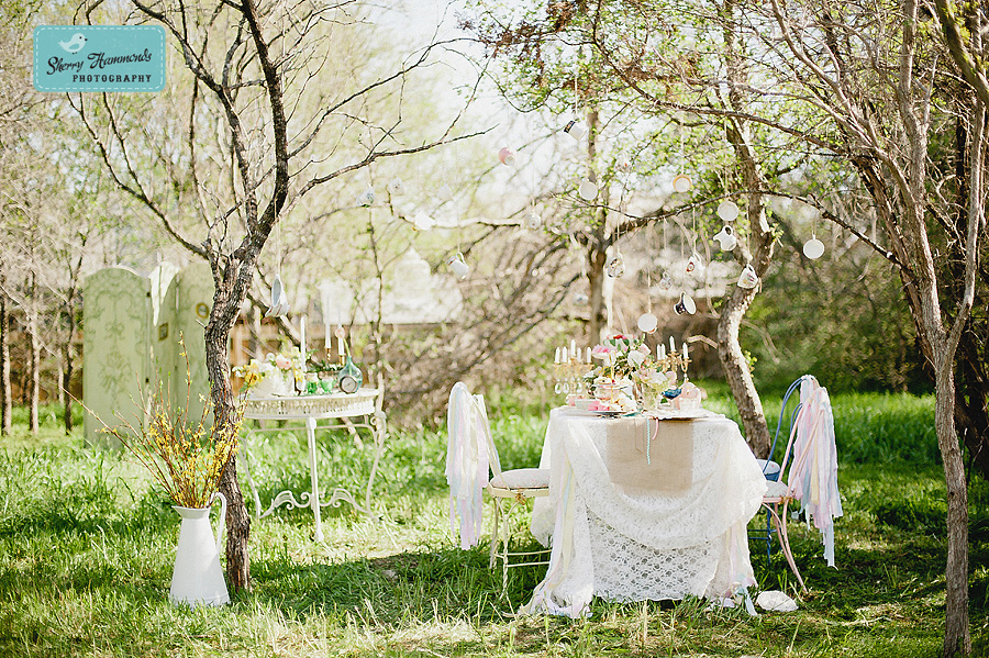 Magical Outdoor Tea Parety, Photo by Sherry Hammonds