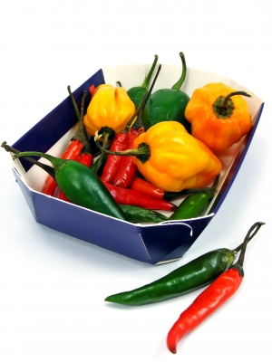 Variety of Hot Peppers, Image: FreeDigitalPhoto.net