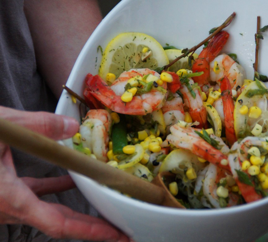 Andrew Zimmern's Low Country Shrimp - Field and Feast - Field and ...