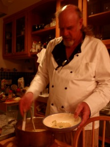 Ray Benson of Asleep at the Wheel Makes his Famous Corn Soup