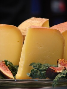 Cheddar with Figs by Quinn Dombrowski