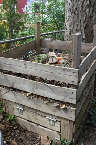 Compost Bin Courtesy of Rachel Tayse