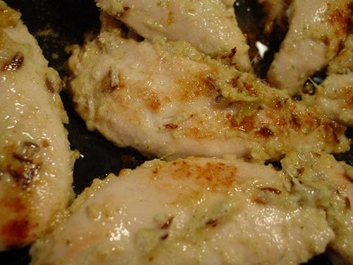 Chicken Breasts with Garlic and Lemon, Photo: Recipe