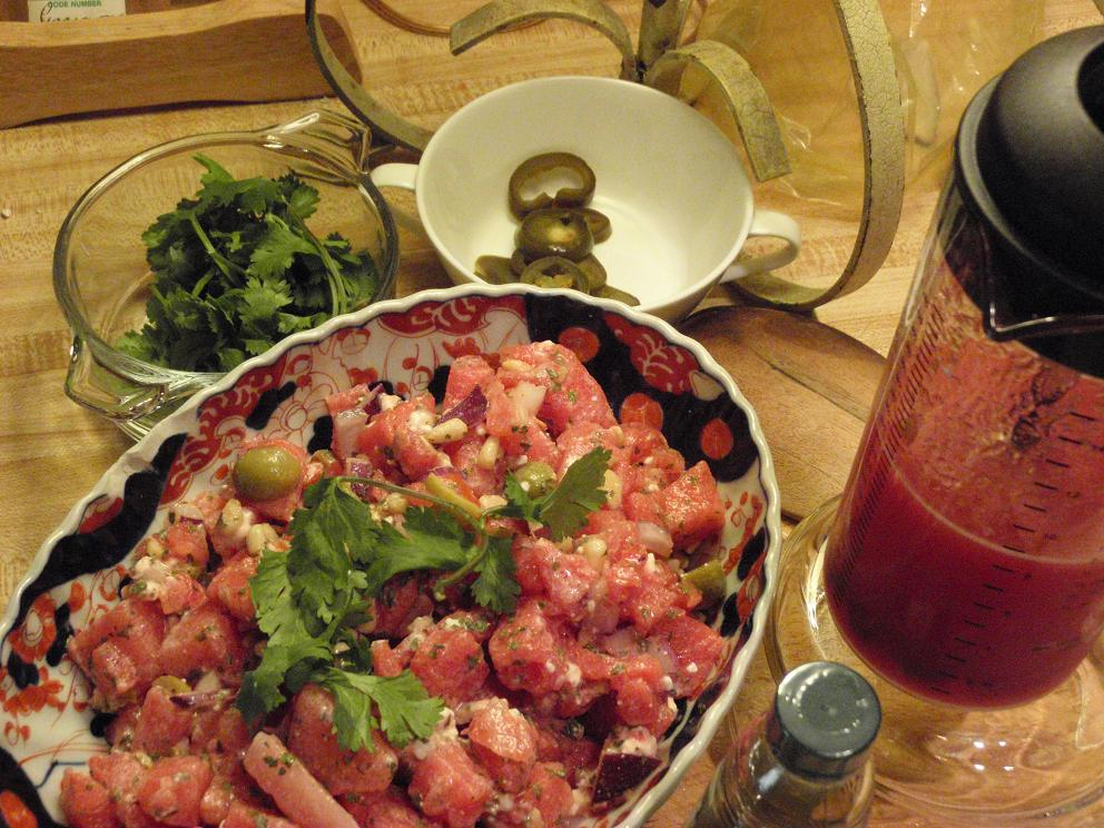 BJ Thomas' Watermelon and Feta Cheese Salad