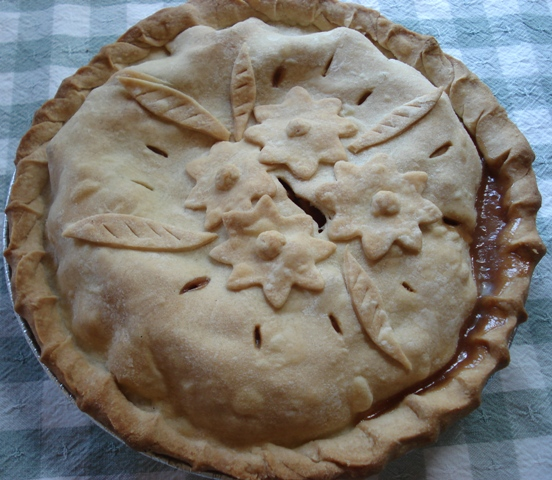 Apple Plum Pie, photo © Colleen Sommers/Pie Fixes Everything