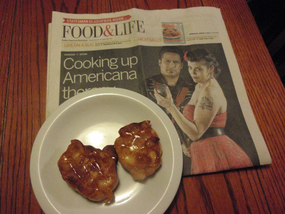 Apple Fritters with tyou Paper?