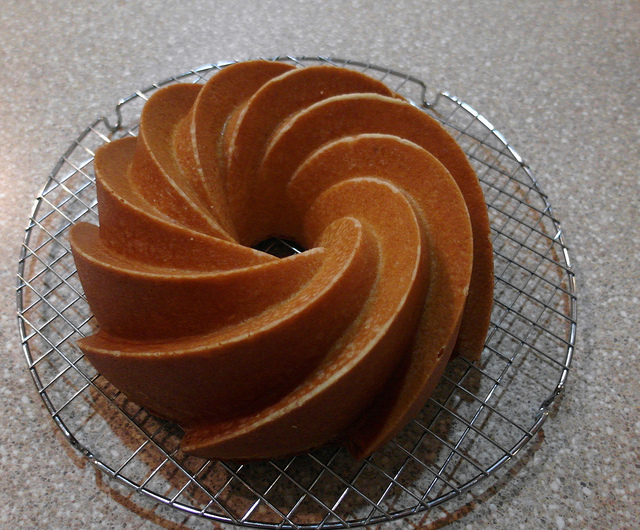 Citrus Explosion Pound Cake, Cake and Image courtesy Jenni Field, Pastry Chef Online