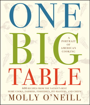 One Big Table by Molly O'Neill