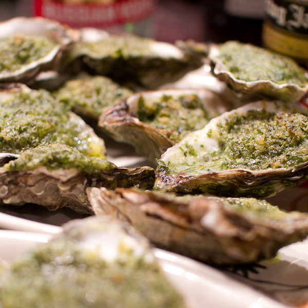 Oysters Rockefeller, image by Pachango