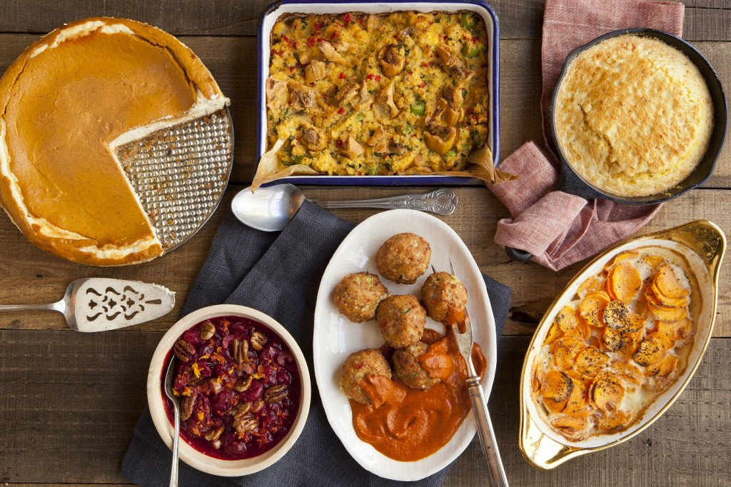 Thanksgiving side dishes from Jack Allen's Kitchen, Celebrating the tastes of Texas.