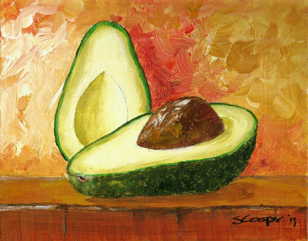 Avocado by Shelia Cosper--the key ingredient of Avocado Verde Sauce