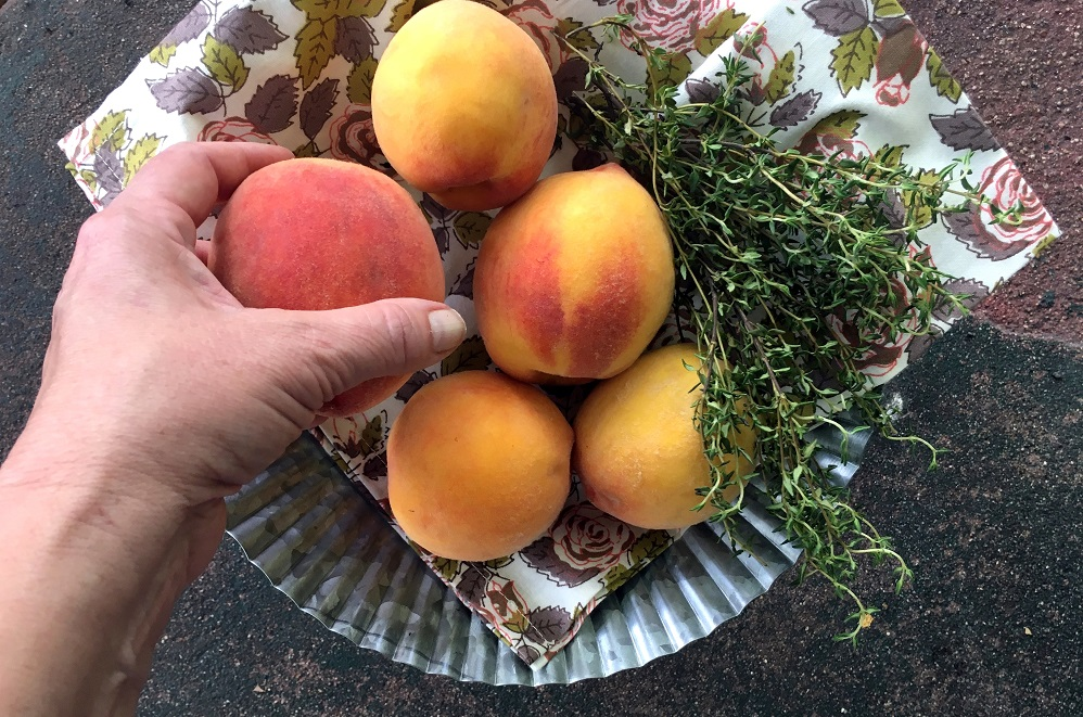 Peaches with Perkns